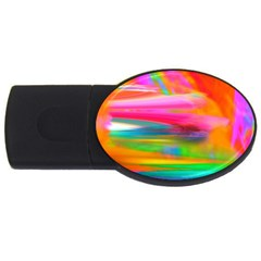 Abstract Illustration Nameless Fantasy Usb Flash Drive Oval (4 Gb) by Amaryn4rt