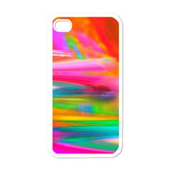 Abstract Illustration Nameless Fantasy Apple Iphone 4 Case (white) by Amaryn4rt