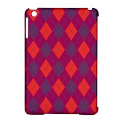 Plaid Pattern Apple Ipad Mini Hardshell Case (compatible With Smart Cover) by Valentinaart