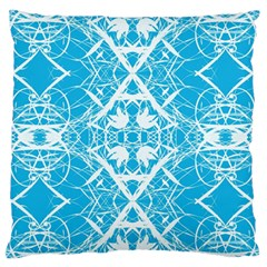 Pattern Large Flano Cushion Case (one Side) by Valentinaart