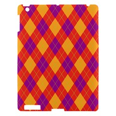 Plaid Pattern Apple Ipad 3/4 Hardshell Case by Valentinaart