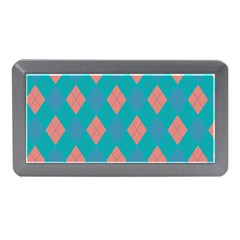 Plaid Pattern Memory Card Reader (mini) by Valentinaart