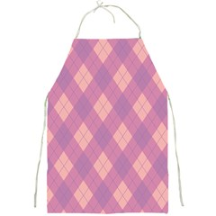 Plaid Pattern Full Print Aprons by Valentinaart