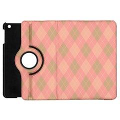 Plaid Pattern Apple Ipad Mini Flip 360 Case by Valentinaart