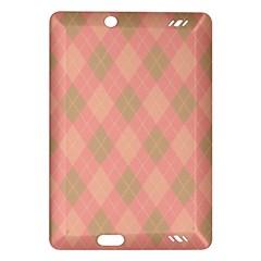 Plaid Pattern Amazon Kindle Fire Hd (2013) Hardshell Case by Valentinaart