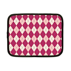 Plaid Pattern Netbook Case (small)  by Valentinaart