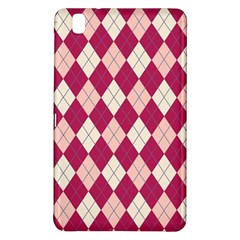 Plaid Pattern Samsung Galaxy Tab Pro 8 4 Hardshell Case by Valentinaart