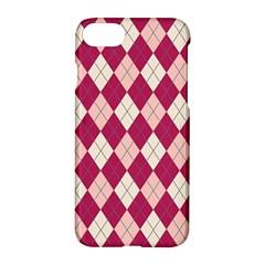 Plaid pattern Apple iPhone 7 Hardshell Case by Valentinaart