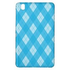 Plaid Pattern Samsung Galaxy Tab Pro 8 4 Hardshell Case by Valentinaart