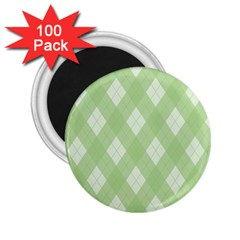 Plaid Pattern 2 25  Magnets (100 Pack)  by Valentinaart
