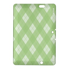 Plaid Pattern Kindle Fire Hdx 8 9  Hardshell Case by Valentinaart