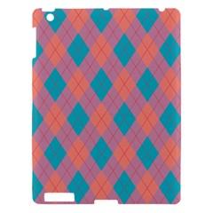 Plaid Pattern Apple Ipad 3/4 Hardshell Case by Valentinaart