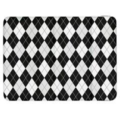 Plaid Pattern Samsung Galaxy Tab 7  P1000 Flip Case by Valentinaart