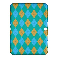 Plaid Pattern Samsung Galaxy Tab 4 (10 1 ) Hardshell Case  by Valentinaart