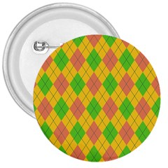 Plaid Pattern 3  Buttons by Valentinaart