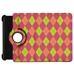 Plaid Pattern Kindle Fire Hd 7  by Valentinaart