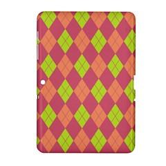 Plaid Pattern Samsung Galaxy Tab 2 (10 1 ) P5100 Hardshell Case  by Valentinaart