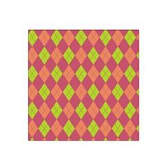 Plaid Pattern Satin Bandana Scarf by Valentinaart