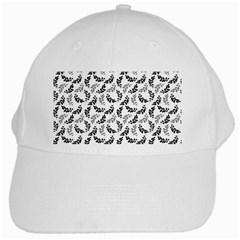 Pattern White Cap