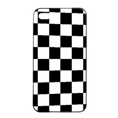 Pattern Apple Iphone 4/4s Seamless Case (black) by Valentinaart