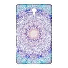 India Mehndi Style Mandala   Cyan Lilac Samsung Galaxy Tab S (8 4 ) Hardshell Case  by EDDArt
