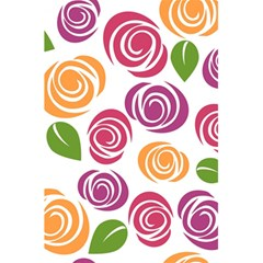 Colorful Seamless Floral Flowers Pattern Wallpaper Background 5 5  X 8 5  Notebooks