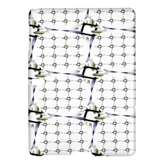 Fractal Design Pattern Samsung Galaxy Tab S (10 5 ) Hardshell Case  by Amaryn4rt