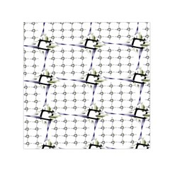 Fractal Design Pattern Small Satin Scarf (square) by Amaryn4rt