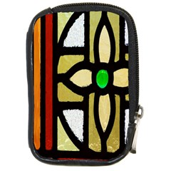 A Detail Of A Stained Glass Window Compact Camera Cases by Amaryn4rt