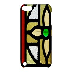 A Detail Of A Stained Glass Window Apple Ipod Touch 5 Hardshell Case With Stand by Amaryn4rt
