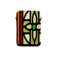 A Detail Of A Stained Glass Window Apple Ipad Mini Protective Soft Cases by Amaryn4rt