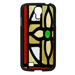 A Detail Of A Stained Glass Window Samsung Galaxy S4 I9500/ I9505 Case (black) by Amaryn4rt
