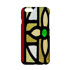 A Detail Of A Stained Glass Window Apple Iphone 6/6s Hardshell Case by Amaryn4rt
