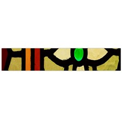 A Detail Of A Stained Glass Window Flano Scarf (large) by Amaryn4rt