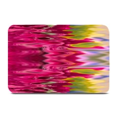 Abstract Pink Colorful Water Background Plate Mats by Amaryn4rt