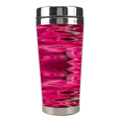 Abstract Pink Colorful Water Background Stainless Steel Travel Tumblers by Amaryn4rt