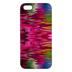 Abstract Pink Colorful Water Background Iphone 5s/ Se Premium Hardshell Case by Amaryn4rt