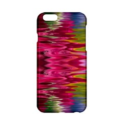 Abstract Pink Colorful Water Background Apple Iphone 6/6s Hardshell Case by Amaryn4rt