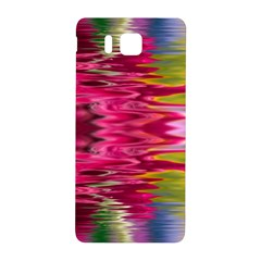 Abstract Pink Colorful Water Background Samsung Galaxy Alpha Hardshell Back Case by Amaryn4rt