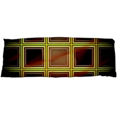 Drawing Of A Color Fractal Window Body Pillow Case (dakimakura) by Amaryn4rt