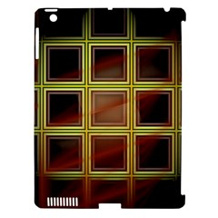Drawing Of A Color Fractal Window Apple Ipad 3/4 Hardshell Case (compatible With Smart Cover) by Amaryn4rt
