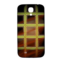 Drawing Of A Color Fractal Window Samsung Galaxy S4 I9500/i9505  Hardshell Back Case by Amaryn4rt