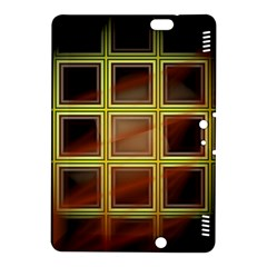 Drawing Of A Color Fractal Window Kindle Fire Hdx 8 9  Hardshell Case by Amaryn4rt