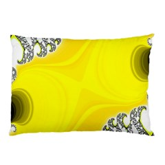 Fractal Abstract Background Pillow Case (two Sides) by Amaryn4rt