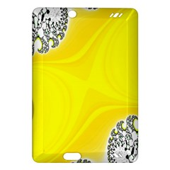 Fractal Abstract Background Amazon Kindle Fire Hd (2013) Hardshell Case by Amaryn4rt