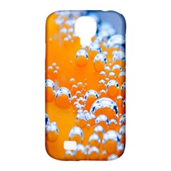Bubbles Background Samsung Galaxy S4 Classic Hardshell Case (pc+silicone) by Amaryn4rt