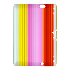 Multi Colored Bright Stripes Striped Background Wallpaper Kindle Fire Hdx 8 9  Hardshell Case
