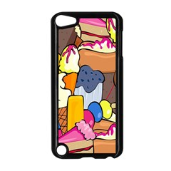 Sweet Stuff Digitally Created Sweet Food Wallpaper Apple Ipod Touch 5 Case (black) by Amaryn4rt