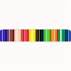 Colorful Striped Background Wallpaper Pattern Small Bar Mats by Amaryn4rt