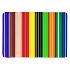 Colorful Striped Background Wallpaper Pattern Samsung Galaxy Tab 8 9  P7300 Flip Case by Amaryn4rt